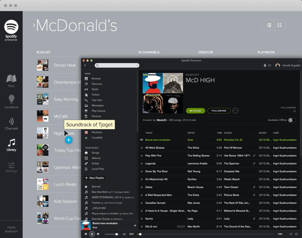 Spotify Enterprise