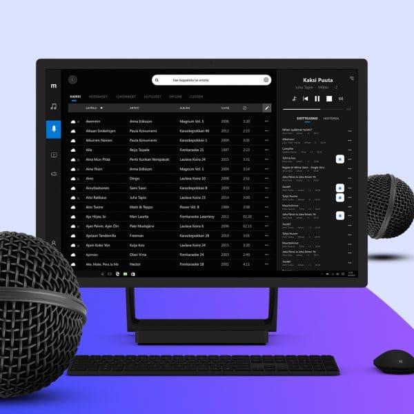 Maestro Pro – Karaoke kuukausiveloituksella